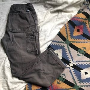 The North Face Asphalt Grey Canvas work pants